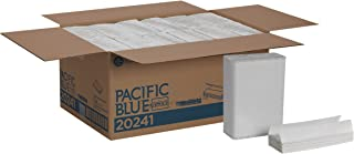Pacific Blue Select C-Fold Paper Towels (previously branded Preference) by GP PRO (Georgia-Pacific), White, 20241, 200 Towels Per Pack, 12 Packs Per Case