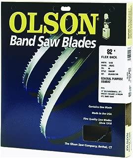 Olson Saw FB08582DB 1/8 by 0.025 by 82-Inch HEFB Band 14 TPI Regular Saw Blade