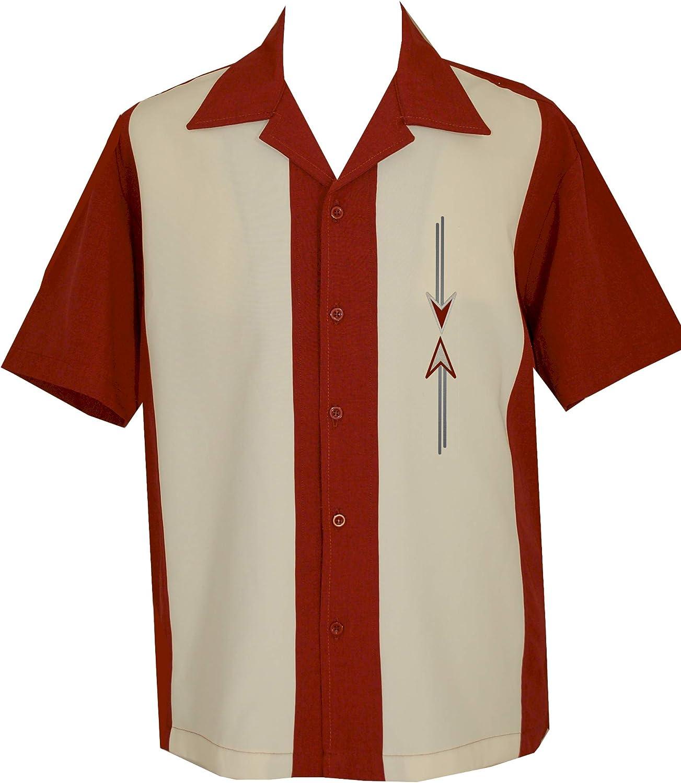 Lucky ParadiseMens Camp Tulsa Mall Shirt Vintage Shir Selling and selling Bowling Style Cuban