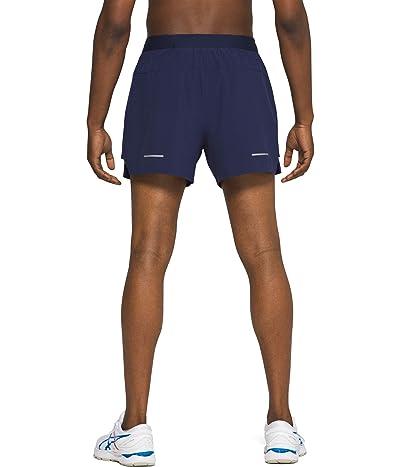 ASICS Road 2-in-1 5 Shorts (Peacoat) Men