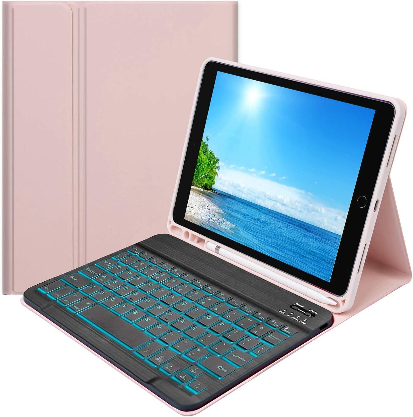 iPad 8th Generation Keyboard Case, iPad 7th Keyboard Case, iPad 10.5