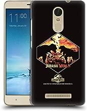 Official Jurassic World T-Rex VS. Indoraptor Vector Art Hard Back Case Compatible for Xiaomi Redmi Note 3 / Pro