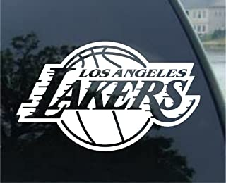 Los Angeles Lakers NBA Basketball Sports Team Sports Team Auto Car Truck White 8