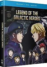 Legend Of The Galactic Heroes Die Neue These Season 1 Blu-ray/DVD(銀河英雄伝説 Die Neue These 邂逅 第1期 全12話)