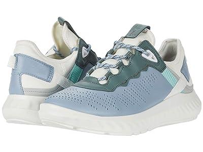 ECCO ST.1 Lite Sneaker (Multicolor Dusty Blue Cow Leather/Textile) Women