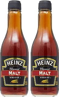 Heinz Gourmet Malt Vinegar, 12 Fl Oz Bottle (Pack of 2)