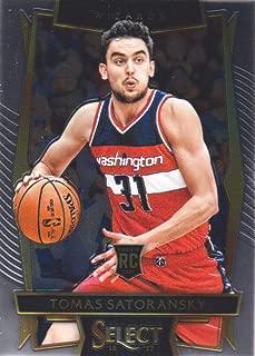 2016-17 Select Basketball #79 Tomas Satoransky RC Washington Wizards
