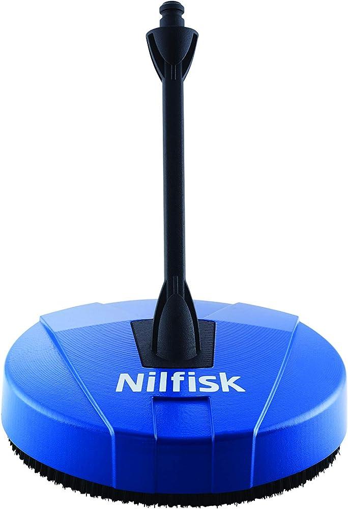 Nilfisk Limpiador Compact Patio hidrolimpiadoras de Alta presión Suelos, Azul, 10x27x28 cm