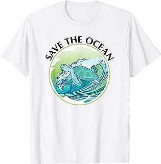Save The Ocean Marine Biology Biologist Sea Turtle Lover T-Shirt
