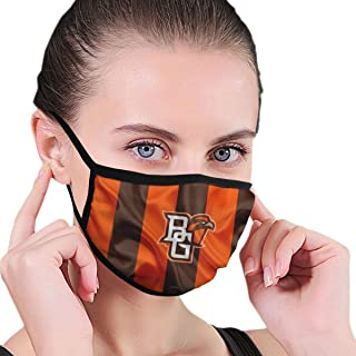 Bowling Green Falcons Adults Mouth Mask with Activated Carbon Filter Washable Reusable Adjustable Face Mask