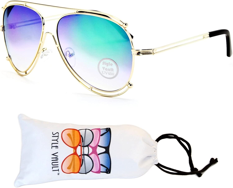 A129vp Style Vault Aviator Metal Sunglasses