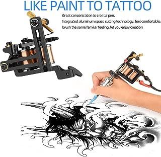 Simplylin12 Circle Hand-Wound Black Iron Fog Balance Tattoo Machine