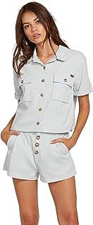Volcom Women's Re Cording Boxy Short Sleeve Shirt