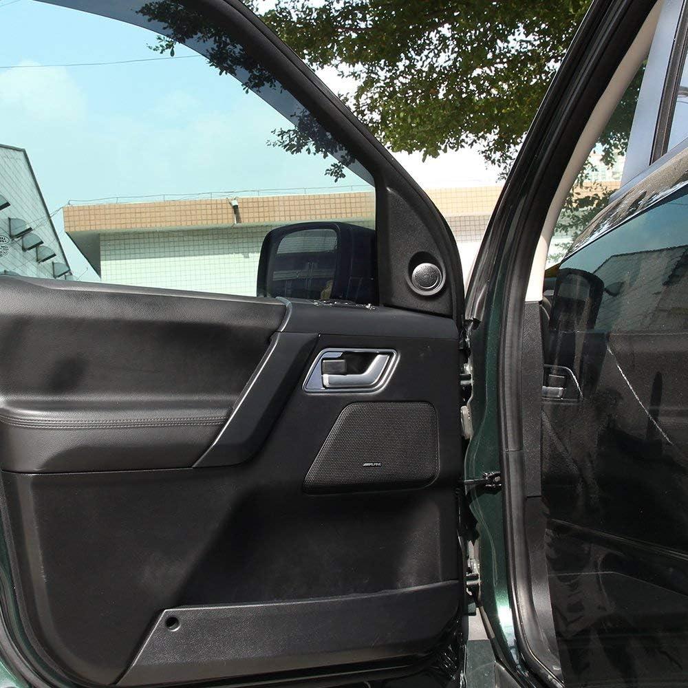 Marco de cromo ABS para interior de coche YIWANG 4 piezas para Freelander 2 2007-2015