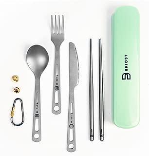 BRIOST Titanium Utility Professional Cutlery 3/4 Pcs Set