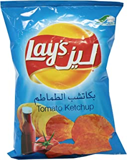 Lay's Tomato Ketchup Chips - 40 gm