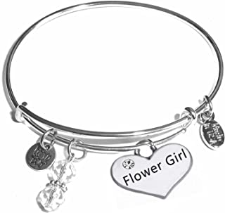 flower girl bangle