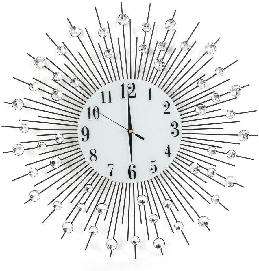 Creative Modern Quartz Wall-Mounted service Silent - Large Genuine Circula Clock