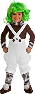 Little Boy Willie Wonka Chocolate Factory Worker Costume