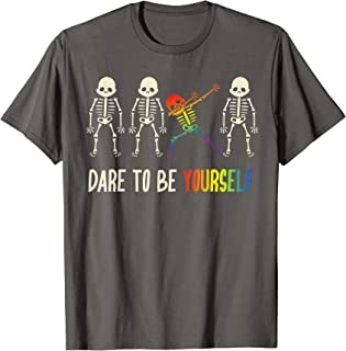 Dare To Be Yourself Shirt   Cute LGBT Pride T-shirt Gift