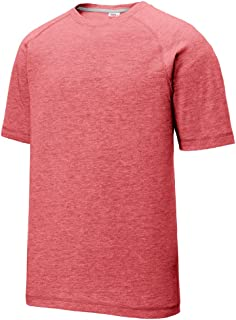 Men's Athletic Performance Dry Fit Short-Sleeve T-Shirts