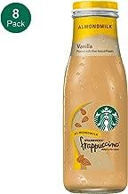 Starbucks Almond Milk Frappuccino, Vanilla, 13.7 Fl Oz (8 Count)