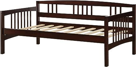 Dorel Living Kayden Daybed Solid Wood, Twin, Espresso
