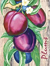 Plums by Laurie Korsgaden Art Print, 15 x 20 inches