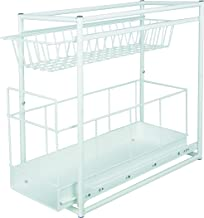 Under Sink Storage Rack Kitchen Unit Bathroom Cupboard Tidy 2 Tier Organiser by TP-Products