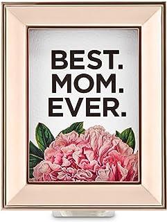 Bath and Body Works ホワイトバーン Best Mom Everウォールフラワープラグ ローズゴールドフレーム