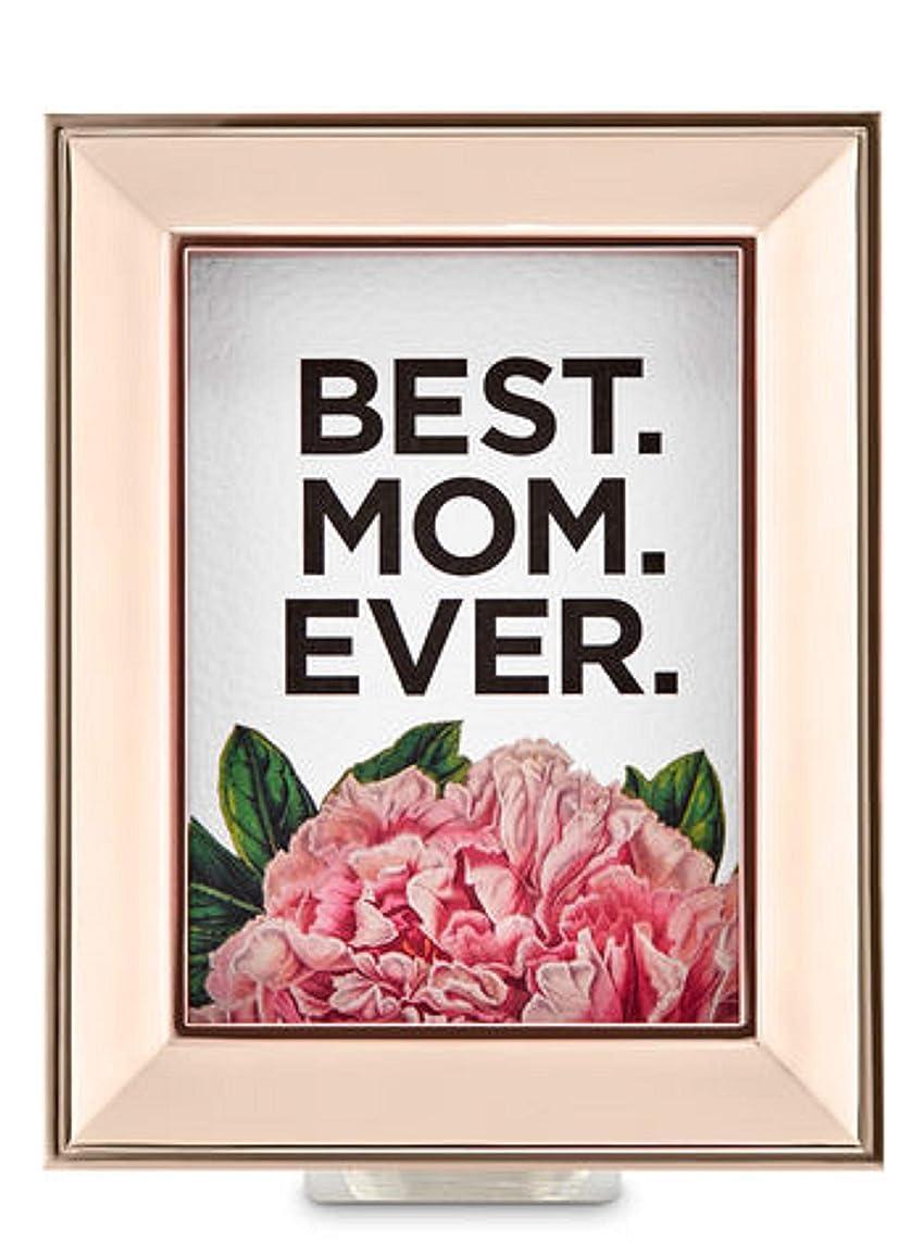 買い手ミシンシェードBath and Body Works ホワイトバーン Best Mom Everウォールフラワープラグ ローズゴールドフレーム