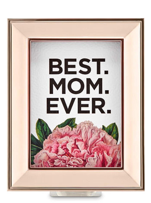 充電変更ベアリングサークルBath and Body Works ホワイトバーン Best Mom Everウォールフラワープラグ ローズゴールドフレーム