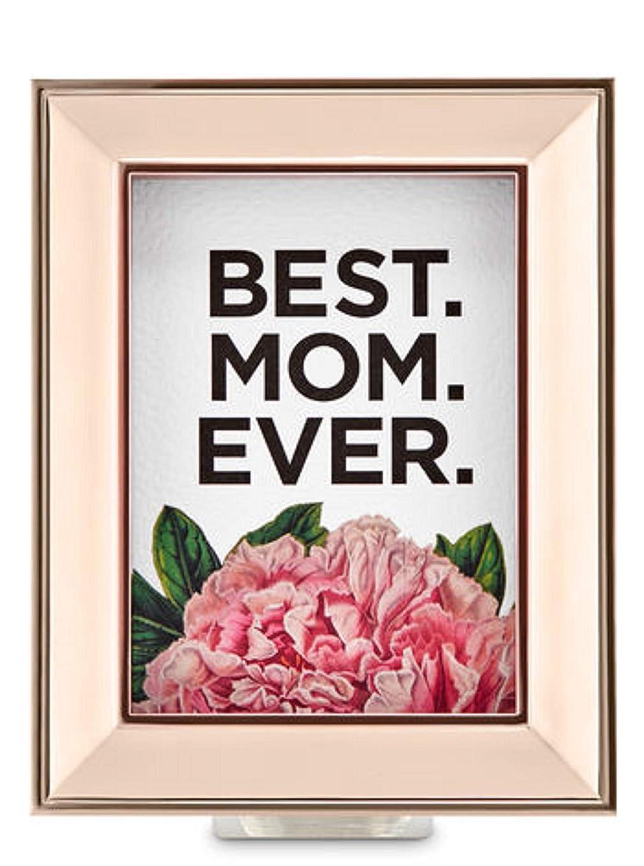 技術ジェスチャーおもしろいBath and Body Works ホワイトバーン Best Mom Everウォールフラワープラグ ローズゴールドフレーム