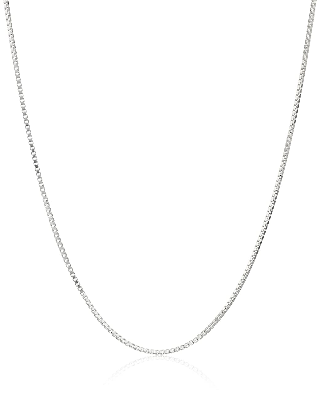 Honolulu Jewelry Company Sterling Silver 1mm Box Chain Necklace, 14