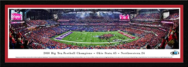 2018 Big Ten Football Champions - Ohio State Buckeyes - College Posters, Framed Pictures and Wall Decor by Blakeway Panoramas
