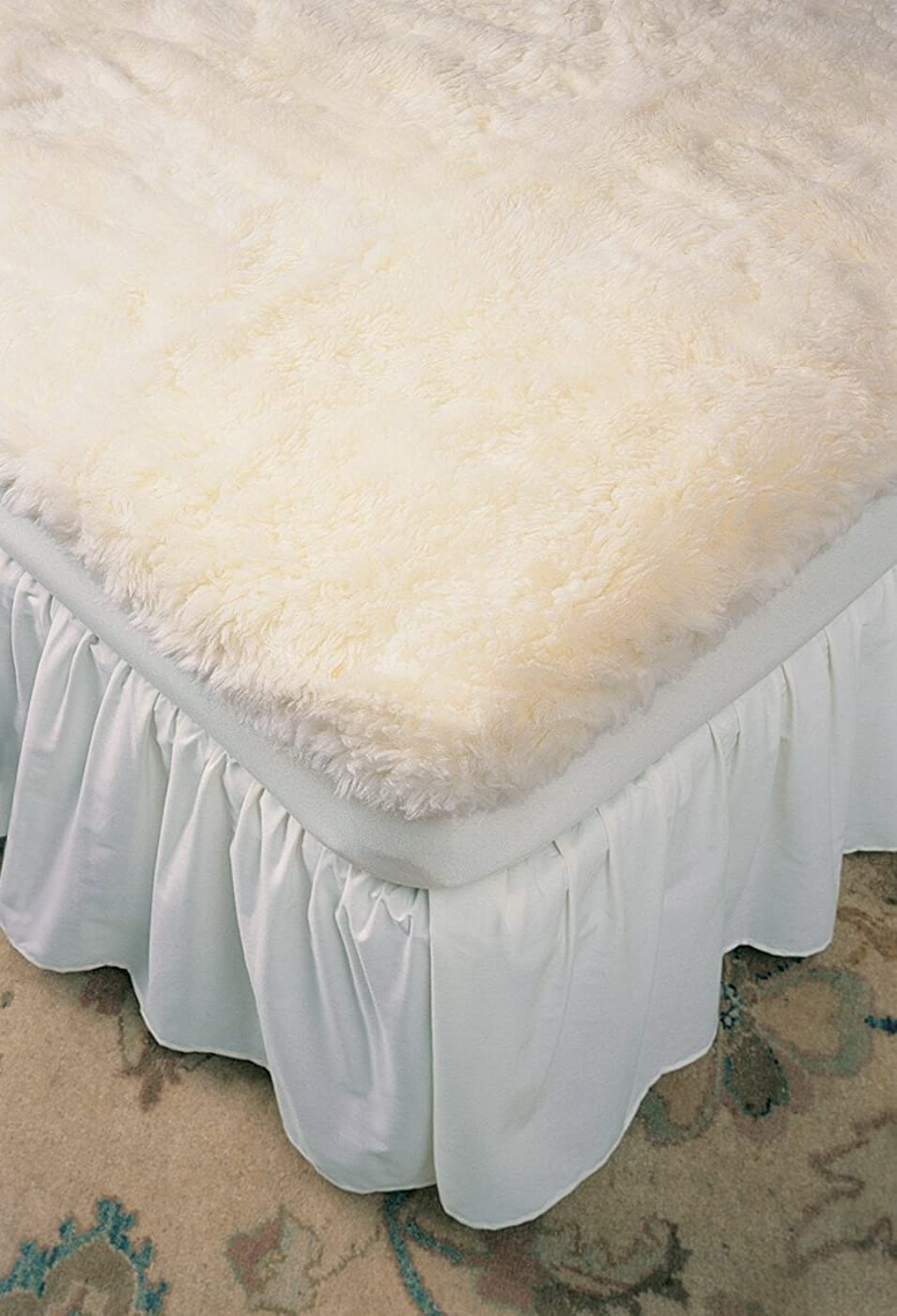 (Queen) - Ultimatt Fully-Fitted Wool Mattress Pads