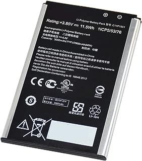 Ammibattery Replacement C11P1501 0B200-01770200 Battery For ASUS ZenFone 2 Laser 6.0, ZenFone Selfie Limited Edition Dual SIM TD-LTE ZD551KL, Z00D, ZE600KL, Zenfone Selfie, Z00UD 3.85V 11.5WH