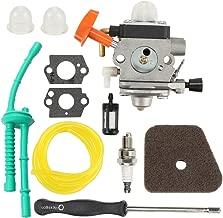 Butom FS100 C1Q-S174 Carburetor + Air Filter + Adjustment Tool + Fuel Line for STIHL FS87 FS90 FS100 FS110 FS130 HL90 HL95 HL100 HT100 HT101 KM90 KM100 KM110 SP90 Trimmer Weed Eater