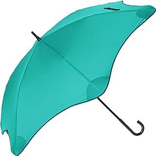 [ムーンバット] BLUNT ブラント 正規品 ライト LITE 婦人長 耐風傘 UV 晴雨兼用 日傘 手開き 親骨58cm 丈夫 オシャレ 無地パイピング アウトドア 山ガール