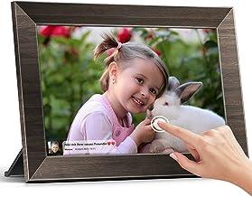 Digitaler Bilderrahmen, 25,65 cm(10,1 Zoll), MARVUE WLAN Elektronischer Bilderrahmen, IPS Touchscreen, Geschenk für Elter...