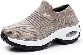 Scarpe da passeggio da donna - Mesh traspirante scarpe da ginnastica atletiche da corsa su strada