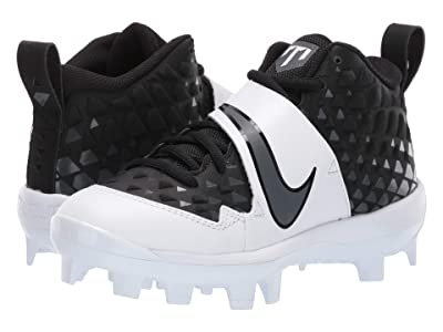 Nike Kids Force Trout 6 Pro MCS Baseball (Toddler/Little Kid/Big Kid) (Black/Anthracite/White) Kids Shoes