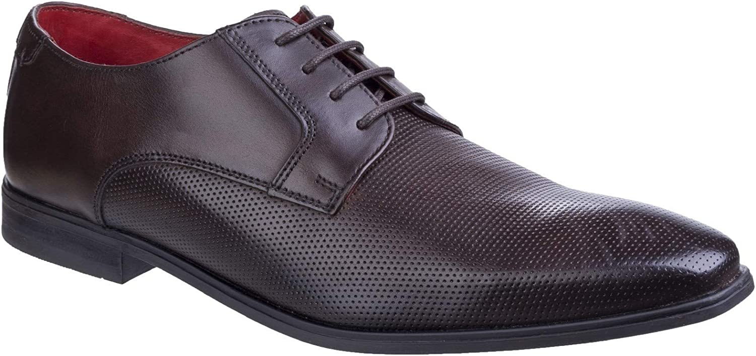 Base London Mens Charles Waxy Lace Up Derby sautope