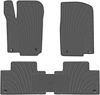 San Auto Car Floor Mat for Mercedes-Benz GLE 2016-2017-2018 Custom Fit Full Black,Rubber Auto Floor Mats All Weather, Heavy Duty & Odorless