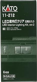 Kato 11-212 N Passenger Car Light Kit White LED (6)