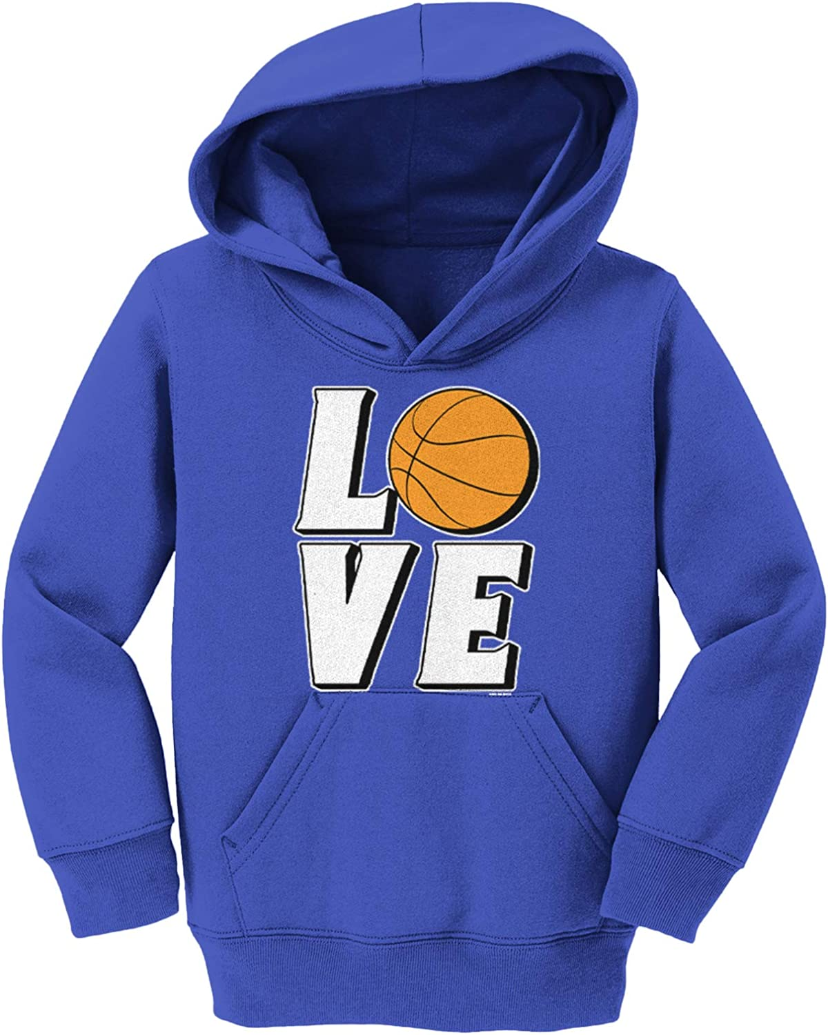 Love Basketball - Sports shopping Hoops Youth Toddler Fleece Hoodie Max 64% OFF