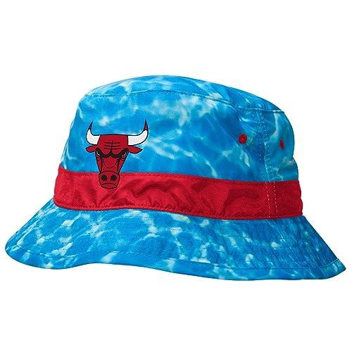 Mitchell Ness NBA Chicago Bulls Jordan Sports Surf Camo Ocean Summer Bucket  Hat 61918b4e0bd2