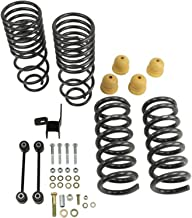 2WD 4WD Supreme Suspensions Steel Shackles Pair Drop Kit PRO 2 Inch Rear Lowering Kit for 2002-2008 Dodge Ram 1500