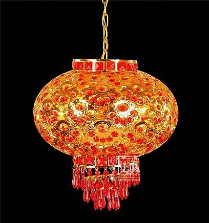 Amazon.fr : lustre rouge - Éclairage de salle de bain : Luminaires ...