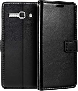Alcatel One Touch Pop C9 7047D Wallet Case, Premium PU Leather Magnetic Flip Case Cover with Card Holder and Kickstand for...